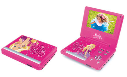 $80 for a Barbie Portable DVD Player