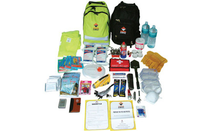 $169 for a Four-Person Disaster Survival Kit (value $349)