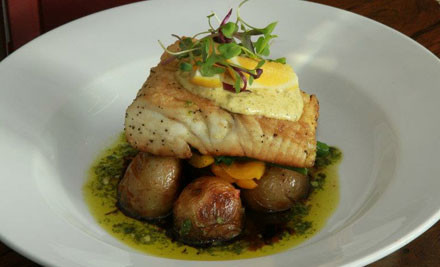 $39 for Two Mains & Any Two Drinks (value $97)