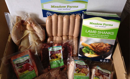 $65 for a Premium Meat Hamper from Meadow Farms (value $127)