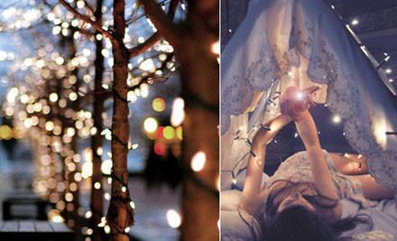 $24 for 12 Metre Long 100 LED Solar Fairy Lights