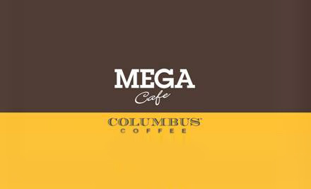 $30 for 10 Medium Columbus Coffees - Palmerston North (value up to $48)