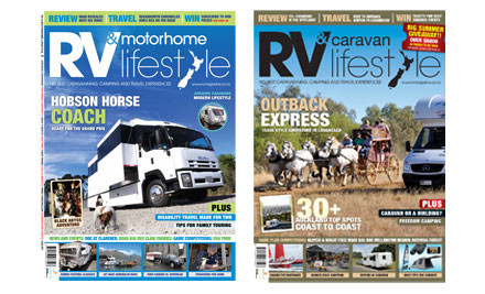 $15 for a Six-Month or $25 for a 12-Month Subscription to RV Travel Lifestyle Magazine (value up to $40)