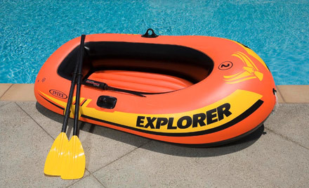 $33 for an INTEX Explorer 200 Inflatable Two Person Raft