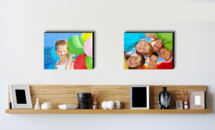 From $10 for a Personalised Photo Block incl. Nationwide Delivery (value up to $36)