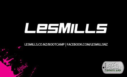 $129 for Les Mills BOOTCAMP® at Les Mills Hamilton (value $299)