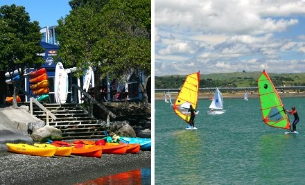 $10 for One-Hour Kayak or SUP Hire or $25 for One-Hour Windsurfing Hire & Instruction (value up to $50)