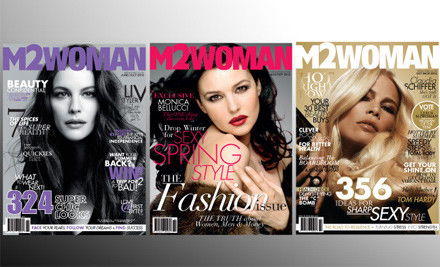 $31 for a 12-Month M2woman Subscription, Incl. Two O.P.I Nail Lacquers (value $109.70)