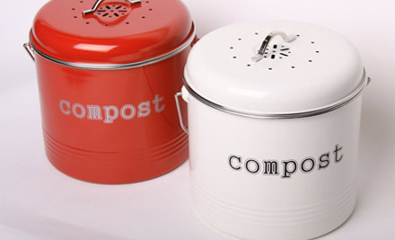 $34 for a Kitchen Compost Bin (value $49.90)
