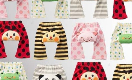 $20 for 5-Pack Animal Baby Pants