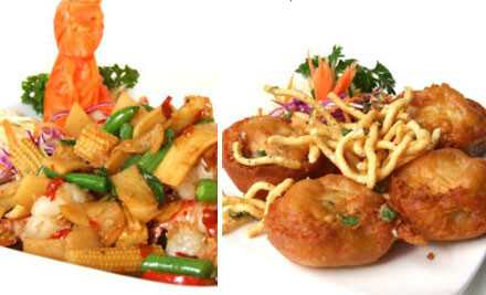 From $29 for Two Mains & Two Drinks incl. Rice at Victoria Street or Bryce Street Dining Lane (value up to $77)