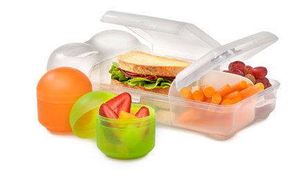 $14 for a Three-Piece Rubbish Free Smash Lunch Box incl. Nationwide Delivery