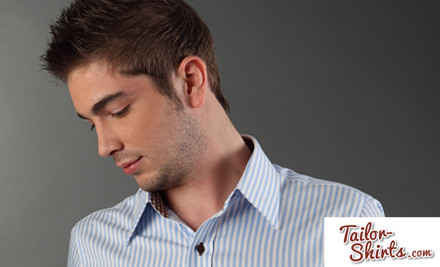 $59 for a Hand-Tailored Shirt (value $201.30)