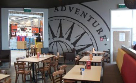 $19 for Any Two Brunch or Lunch Meals at Mega Cafe at Mitre10 Mega Napier or Hastings (value up to $38)