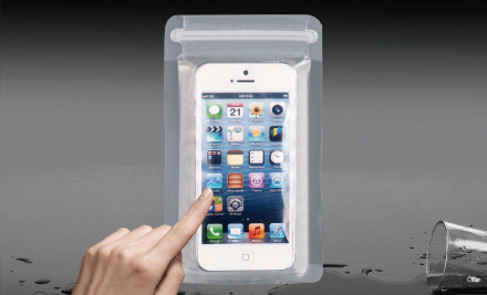 $9 for One, $15 for Two, or $19 for Three Waterproof Bags for iPhones incl. Nationwide Delivery