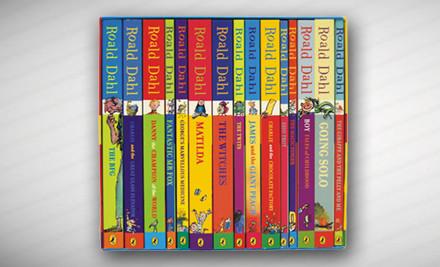 $59 for Roald Dahl 15-Book Boxed Set
