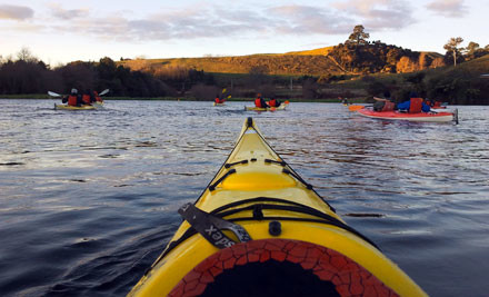 $59 for a Three-Hour Glow Worm Adventure Kayak Trip (value $110)