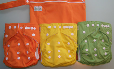 $60 for an 11 Piece Ecotots Nappy Starter Pack incl. Nationwide Delivery