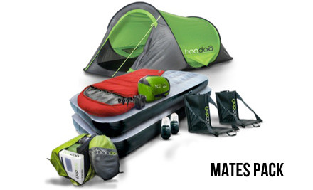 $529 for a Rhythm & Vines Ticket & Mates/Couples Hoodoo Camping Pack (value $1,011)