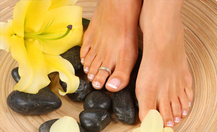 $37 for a One-Hour Deluxe Pedicure & Eyebrow Shape (value $81)