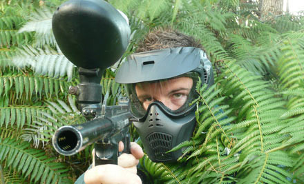 $14 for Two Hours of Paintball (value $30)