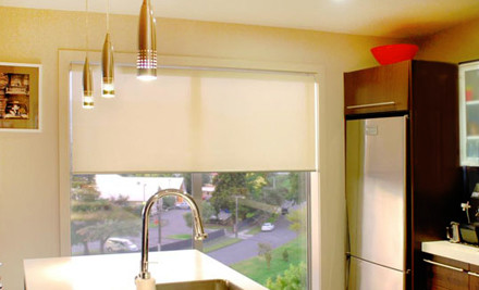 Up to 50% off Made-to-Measure UV Sunscreen Roller Blinds incl. Delivery (value up to $600)