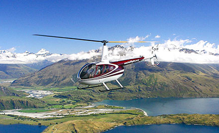 From $130 for a Scenic Helicopter Flight incl. Optional Alpine Landing - Exclusive to GrabOne