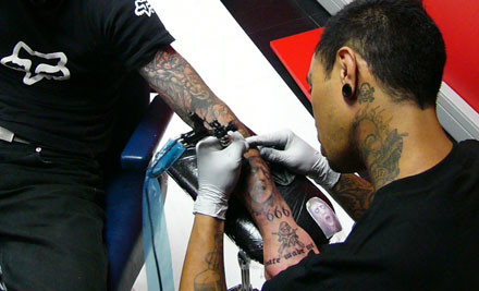 $60 for One Hour of Tattooing (value $150)