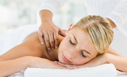 $55 for a Back, Neck & Shoulder Massage & Shellac Manicure (value $100)