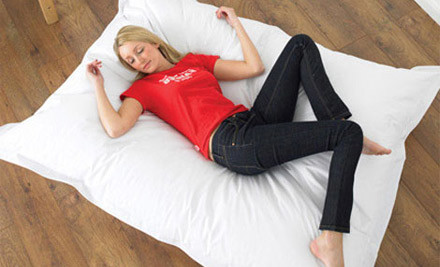 $39 for a Rectangular Bean Bag 140cm x 180cm
