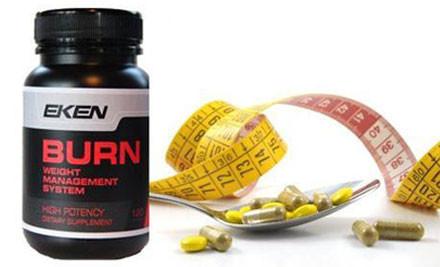 $39 for 120 Eken Fat Burner Supplements incl. Nationwide Delivery