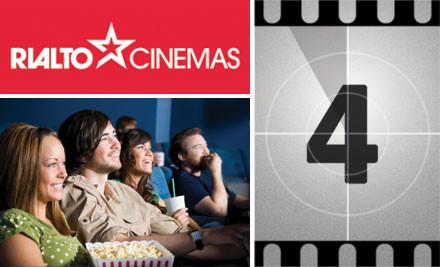 $4 Movie Tickets at Rialto Cinemas Dunedin (value $14.50)