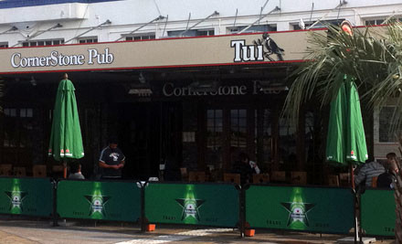 $15 for Any Two Light Meal Lunches at Cornerstone Pub (value $30)