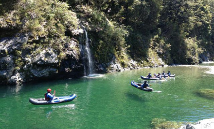 $79 for a guided Inflatable Kanoe Trip on the Pelorus or Wakamarina River for Two People (value $150)