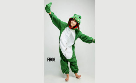 $69 for a Kids' or Adults' Frog or Bee Onesie