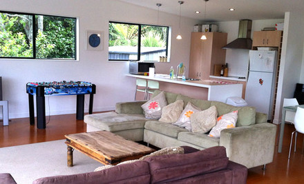 From $300 for Two Nights for up to Eight People incl. Midweek & Weekends at Whangapoua, Coromandel (value up to $640)