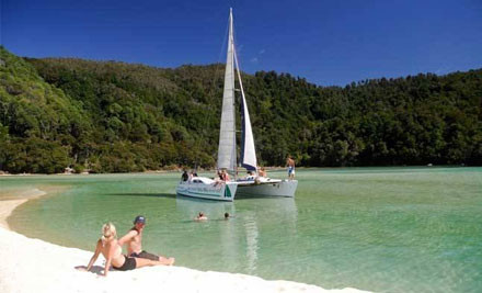 $86 for a Full-Day Sail in the Abel Tasman (value $169)