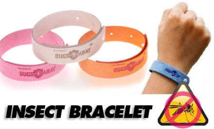 $14 for Six Insect Repellent Bracelets incl. Nationwide Delivery