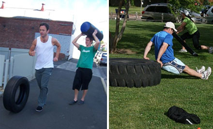 $120 for Six Weeks (30 Sessions) of New Year's Group Fitness Training (value $250)