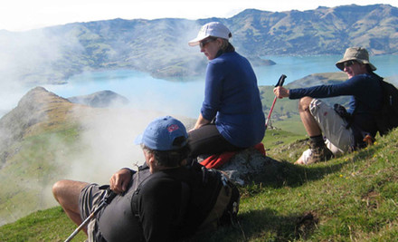 $989 Per Person for Three Days/Three Nights All Inclusive Christchurch to Akaroa Walking Tour (value $1,595)