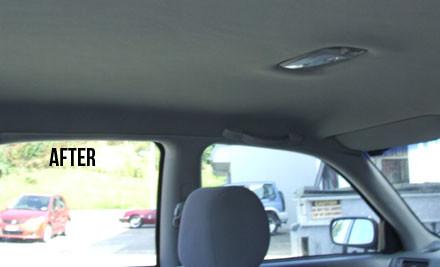 car interior roof re covering grabone. Black Bedroom Furniture Sets. Home Design Ideas