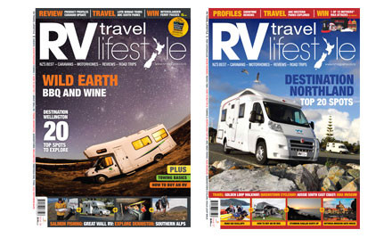 $15 for a Six-Month or $25 for a 12-Month Subscription to RV Travel Lifestyle Magazine