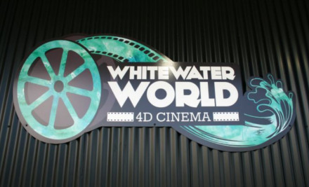 $8 for a 4D Virtual Rafting Experience with Whitewater World Taupo (value $15)