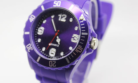$19 for a Silicone Watch in Your Choice of Colour incl. Nationwide Delivery