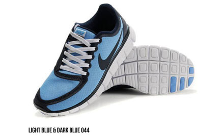 $155 for a Pair of Men's Nike Free 5.0 Running Shoes (value $225)