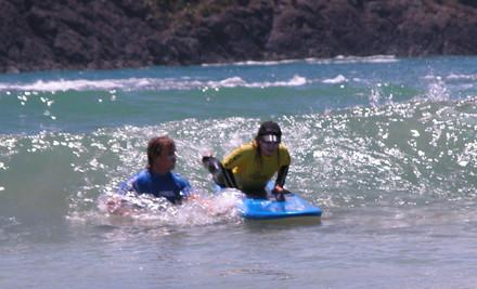 $35 for a Two-Hour Surf Lesson on Matakana Coast (Omaha or Tawharanui) (value $70)