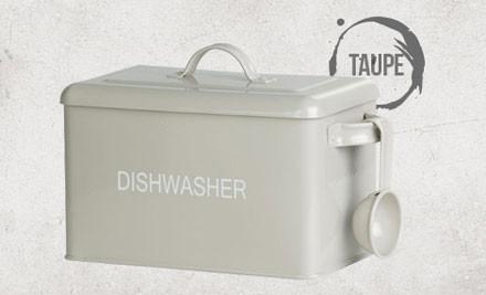 $12 for Dishwasher Powder/Tablet Box (value $25)