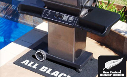 $39 for an All Blacks BBQ Mat & Cover incl. Nationwide Delivery (value $125)