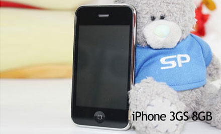 $269 for a Fully Unlocked Factory Refurbished 8GB iPhone 3GS with One Year Warranty