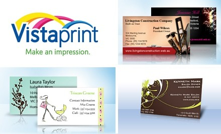 $15 for 500 Premium Business Cards Featuring Your Design from Vista Print (value $41)